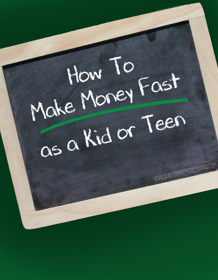 how to make 100 fast as a kid or teen