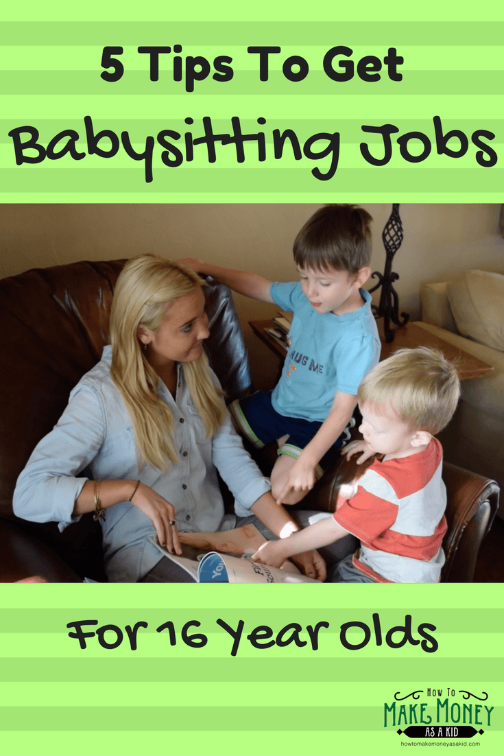 easy  babysitting jobs for 16 year olds