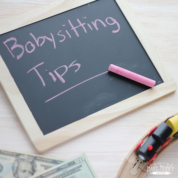 babysitting tips- how to make money as a kid babysitting