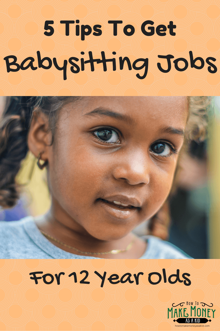 easy  babysitting jobs for 12 year olds
