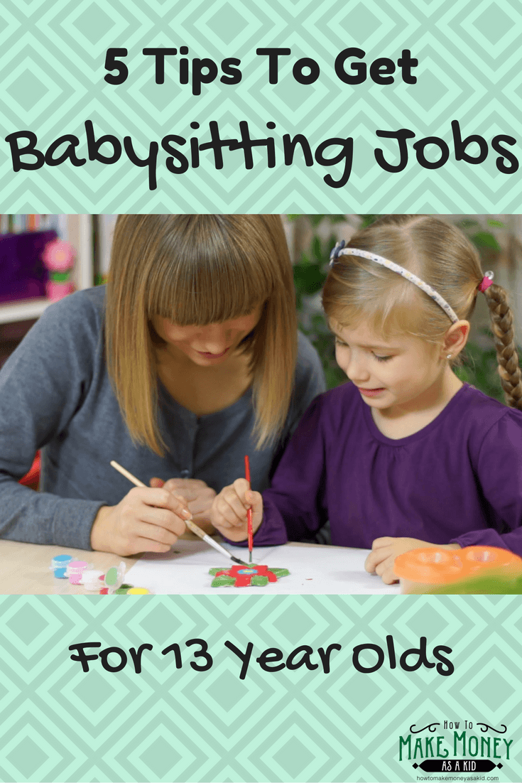 easy  babysitting jobs for 13 year olds