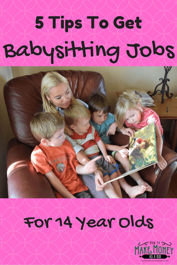 easy  babysitting jobs for 14 year olds